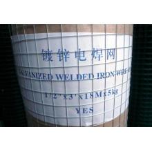 Galvanzied Mesh soudé en acier moulé en PVC moulé en maille à faible épaisseur!