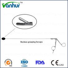 Lumbar Transforaminal Endoscopy Instruments Toothed Nucleus Grasping Forceps