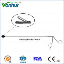 Instrumentos de Endoscopia Transforaminal Lombar Pinça dentada