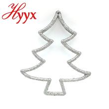 Decoração de suspensão personalizada HYYX da forma da árvore da porta do Natal da cor
