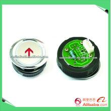 Interrupteur à bouton-poussoir Mitsubishi avec flèche en cercle