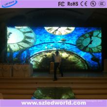 Écran vidéo polychrome d'intérieur de l'intense luminosité LED de P6 SMD