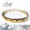 Destiny Jewellery Crystals From Swarovski Gold Bracelet