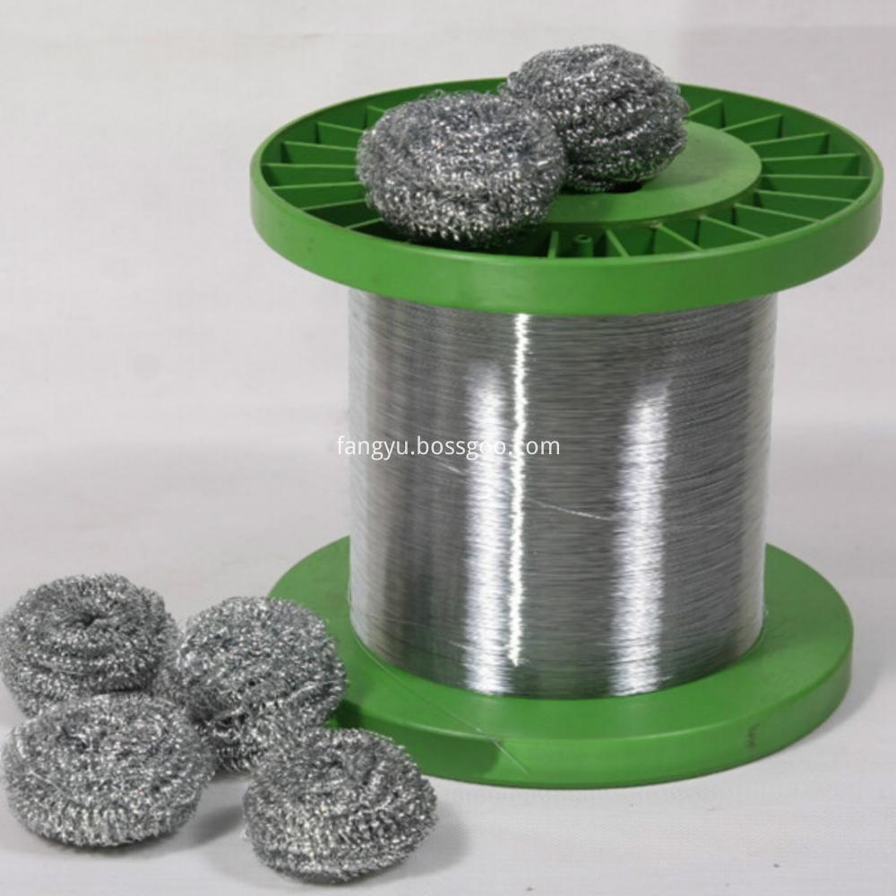 High Quality Galvanized Round Wire For Scourer
