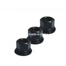10.9 Black Carbon Steel Hex Nut with Washer
