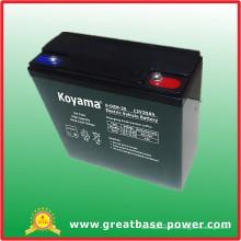 De Bonne Qualité Batterie de véhicule électrique 12V 20ah
