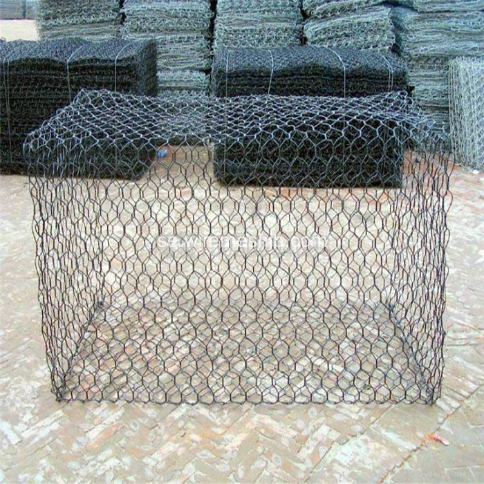 2,7 mm galvaniserad Gabin Mesh för Riverside Protection