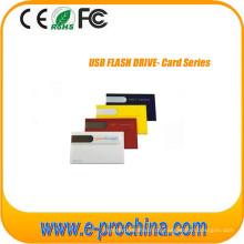 Kundenspezifisches Geschäfts-Kreditkarte USB-Blitz-Antrieb mit freiem Logo