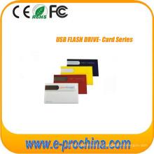 Movimentação feita sob encomenda do flash de USB do cartão de crédito do negócio com logotipo livre