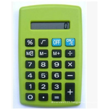 Green Mini Calculator, Lovely Pocket Calculator for Promotional, Office