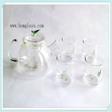 Clear/ Decorate Glass Teapot Glass Kettle