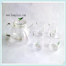 Очистить / украсить стекла чайник стекла чайник