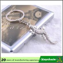 House Lizard Design Zinc Alloy Keychain