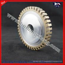 Roue de meulage de diamant / roue de profil segmenté
