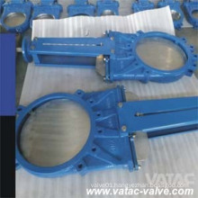 Cast Iron Rubber Soft Seat Lug Slurry Knife Gate Valve
