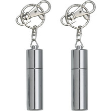 New Waterproof Silver Metal Keychain USB Stick