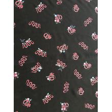 Snake Design Rayon Poplin shuttle 45S Printing Fabric