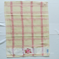 Teapot Embroidery Cotton Tea Towel Set