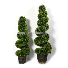 Árvore spiary do topiary artificial interno e ao ar livre de 120cm 150cm