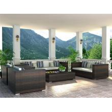 Уличная мебель, Садовая мебель, ротанг мебель, плетеная мебель, открытый диван (6087)