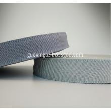 Grey color bilateral twill PP webbing PP pattern ribbon