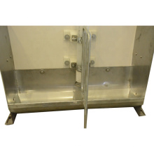 Stainless Steel piglet feeder automatic feeding trough for pig farm