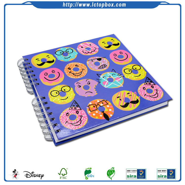 Custom School Notebook Children Kids DIY Drawing Book