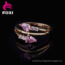 Boa qualidade por atacado mais recente anel de ouro Design