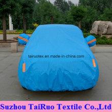 100% taffetas du polyester 170t avec haut imperméable pour la couverture de voiture