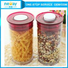 2 Л большой размер хранения продовольствия пластиковые кухни использование Jar