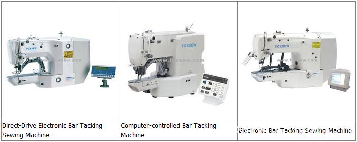 Bar Tacking Sewing Machines