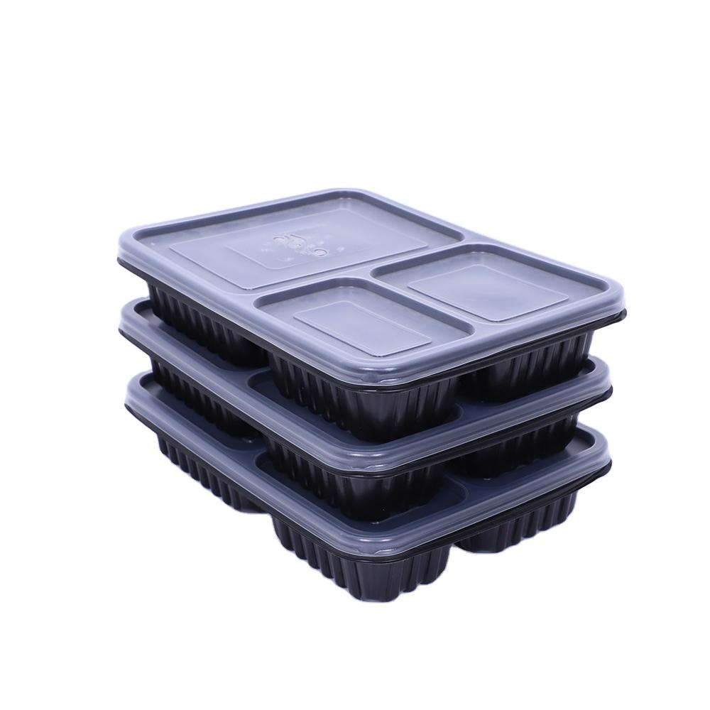 Compartment Plastic Lunch Box