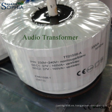 Transformador audio, transformador de Ei, transformador del amplificador, transformador de la base, transformador del anillo