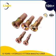 Raccords d'extrémité de tuyau hydraulique en acier au carbone