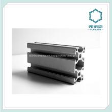Perfil de aluminio de piezas de equipo mecánico