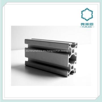 Costumbre profesional extrusionado aluminio 6061-T6 T ranura