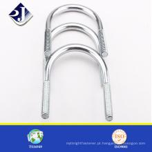 Envio do parafuso de cabeça de alumínio zincado em aço carbono de China