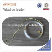 CARP035 100% Fluorocarbono Viento en líder Wind-on Líderes