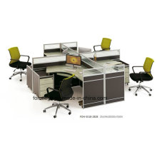 Современный офис мебель 4 человек рабочее место кабина для продажи