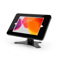 VESA mounting tablet enclosure for different tablets with key lock,tablet stand support 360 degree rotation