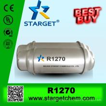 Gaz fluide réfrigérant écologique R1270