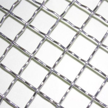 Coarse 2 5 12 18 20 Mesh 304 Stainless Steel Crimped Wire Mesh Used For Mine
