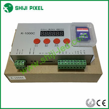 Bom preço cartão SD 2048 pixels RGB LED controlador