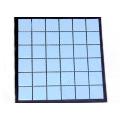 Fábrica de China Diseño de azulejos de cerámica azul esmaltado de color sólido