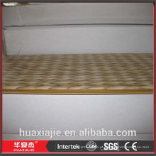 Painéis de PVC amarelo para paredes