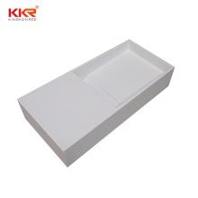 Custom Size Solid Surface Resin Stone Bathroom Vanity Sink