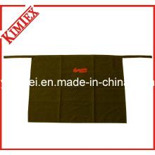 100% algodão promoção bordado cozinha meia cintura avental