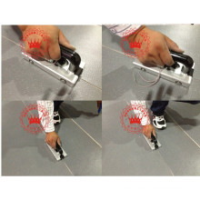 PVC-Bodenbelag-Installation Tools Schweißpistole und Slot Machine für Fix-Installation verwendet