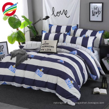 flat disperse 3d bed sheet fabric rinted bedding sets