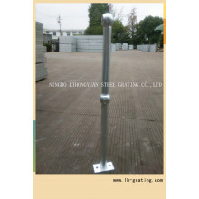 Steel Stanchions with Galvanizing Finish